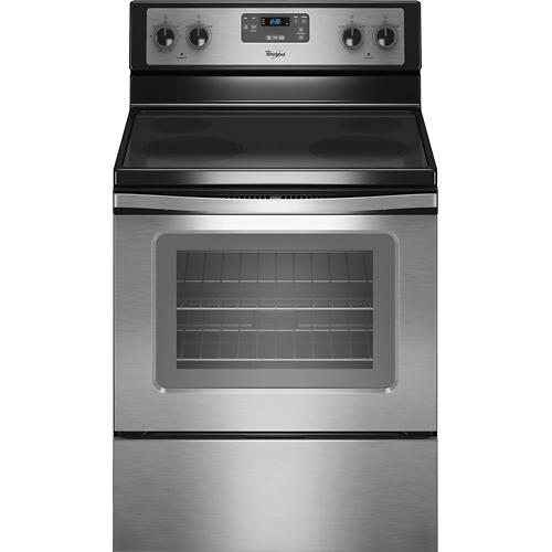 Whirlpool 30 self cleaning freestanding electric range for 494