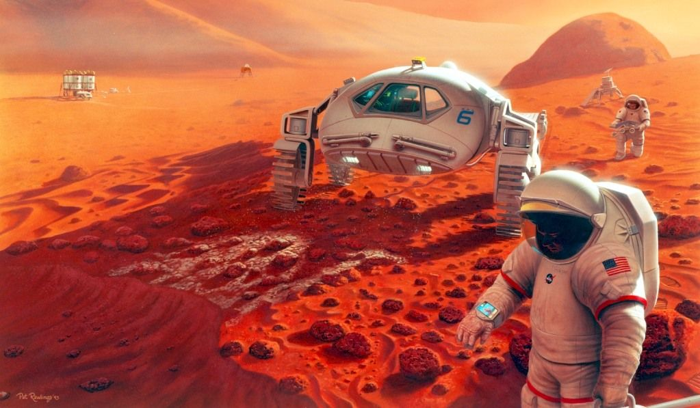 Build a Mars Habitat for NASA and You'll be Rewarded!