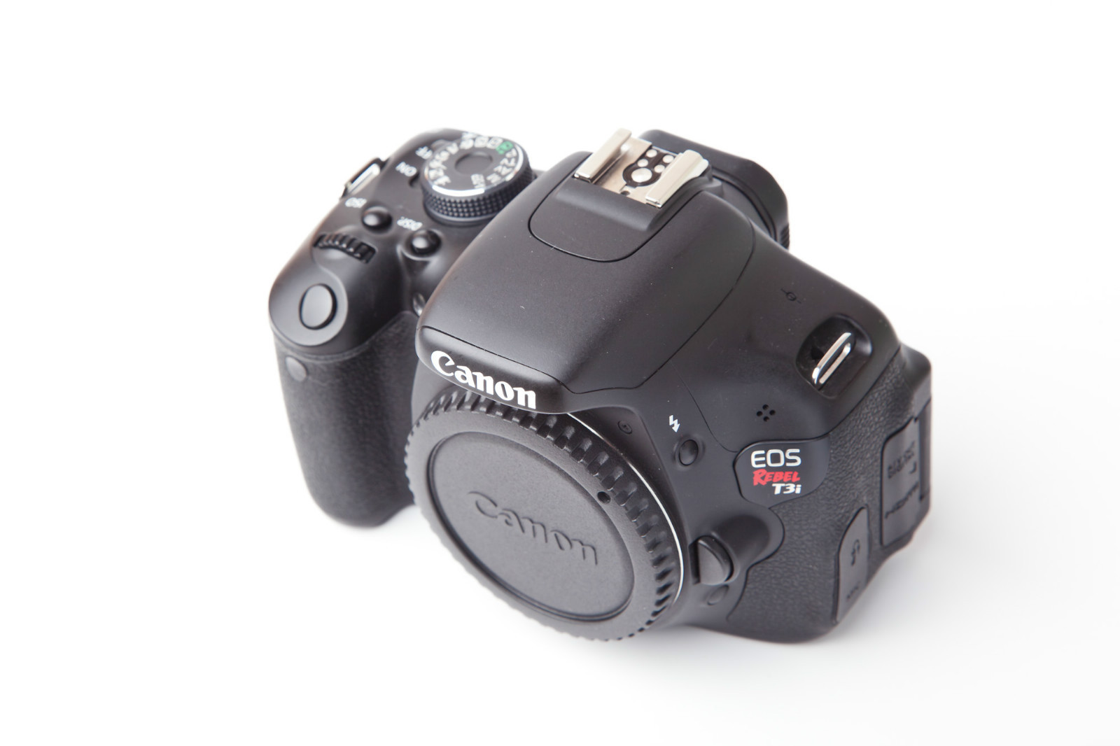 Canon Rebel T3i Top View