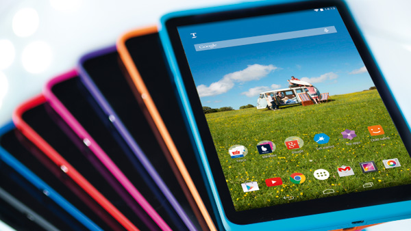 Tesco Hudl 2 Color Variants