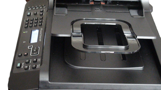 HP Laserjet 1536DNF MFP Top