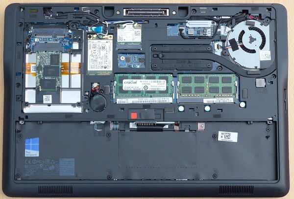 Dell Latitude E7440 Hardware