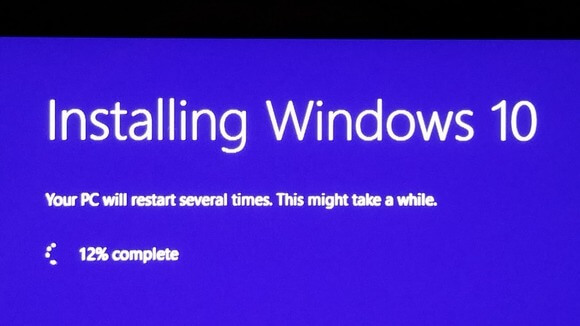 Windows 10 Issues - Installation Phase
