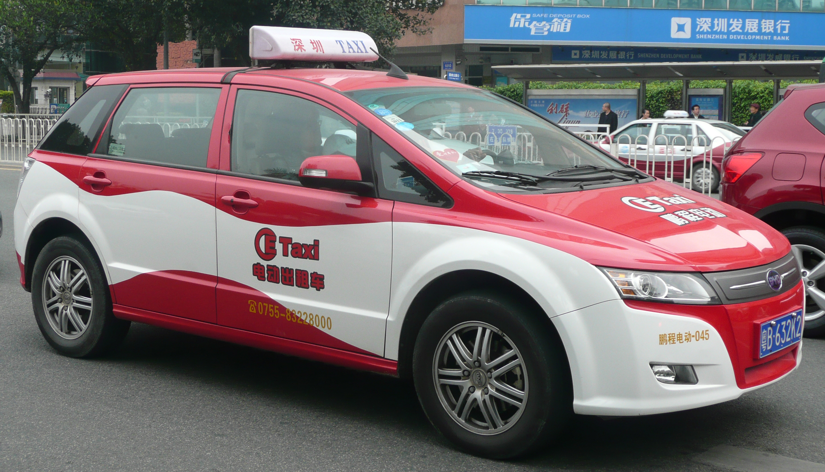 'BYD e6'