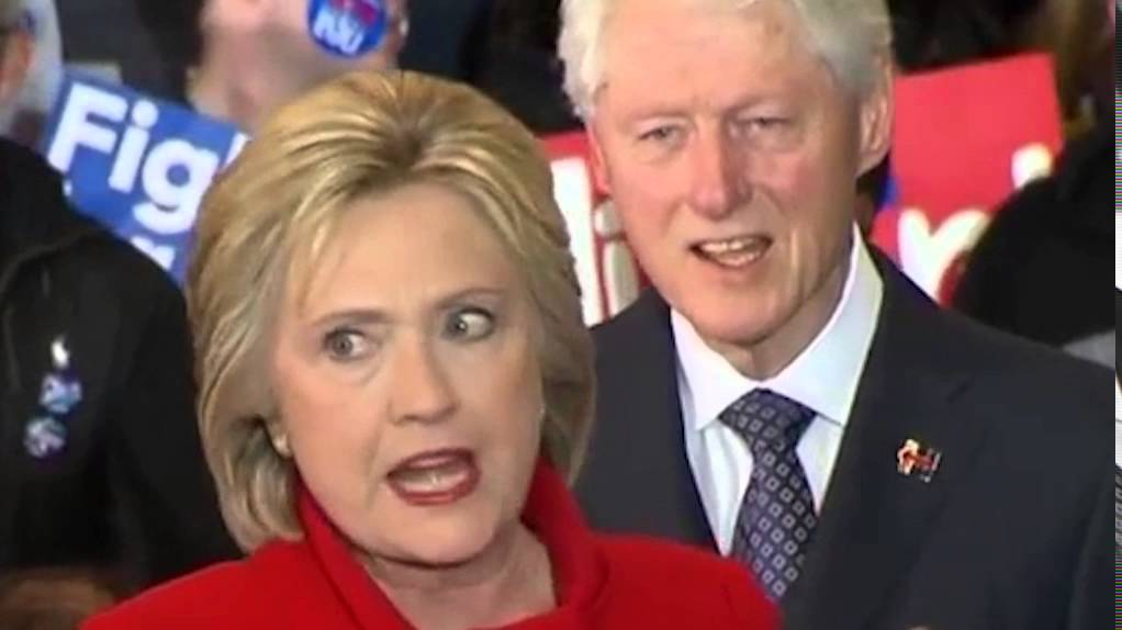 'Bill and Hillary Clinton'
