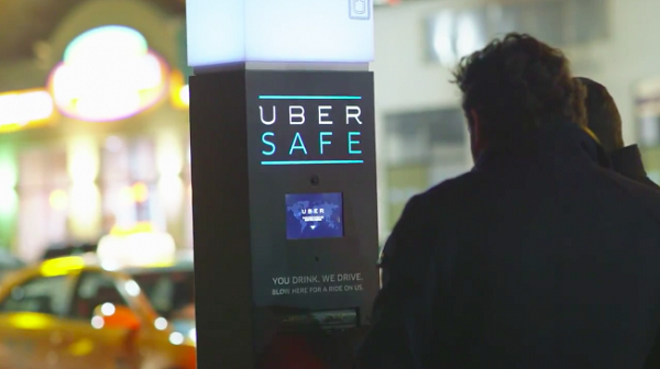 Uber Safe from drunk driving