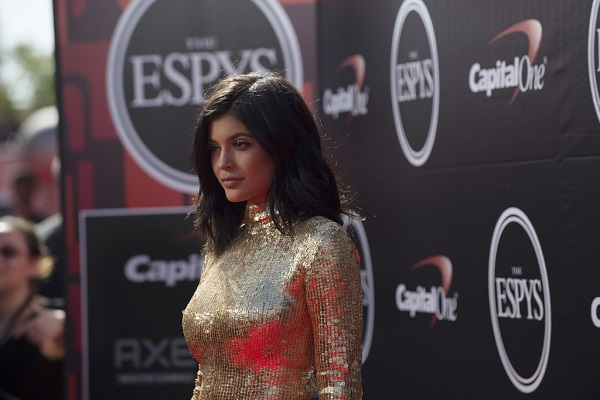 kylie jenner on the red carpet