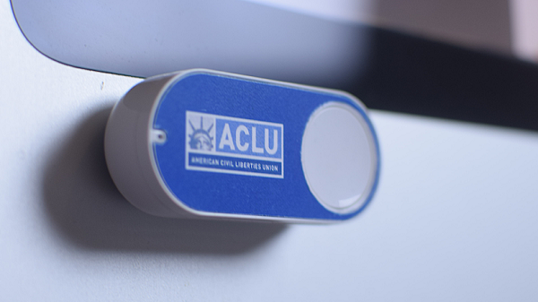 ACLU dash button