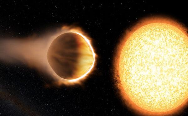 giant exoplanet wasp-121b
