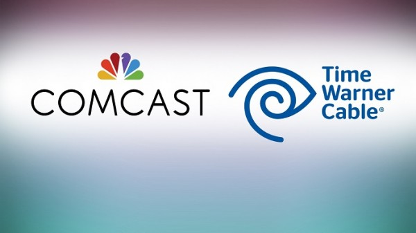 Time Warner Cable and Comcast logo