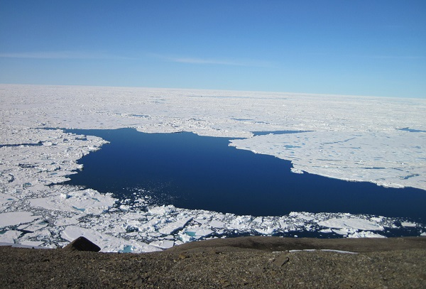 Huge polynya in Antarctica