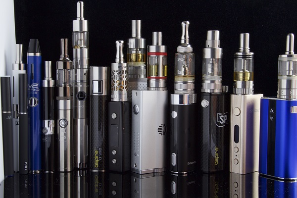 A series of e-cigarettes