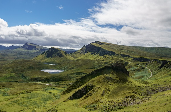 Isle of Skye hit by meteorite millions of years ago.