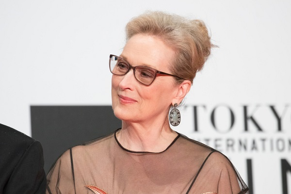 Meryl Streep at the Tokyo International Film Festival in 2016.