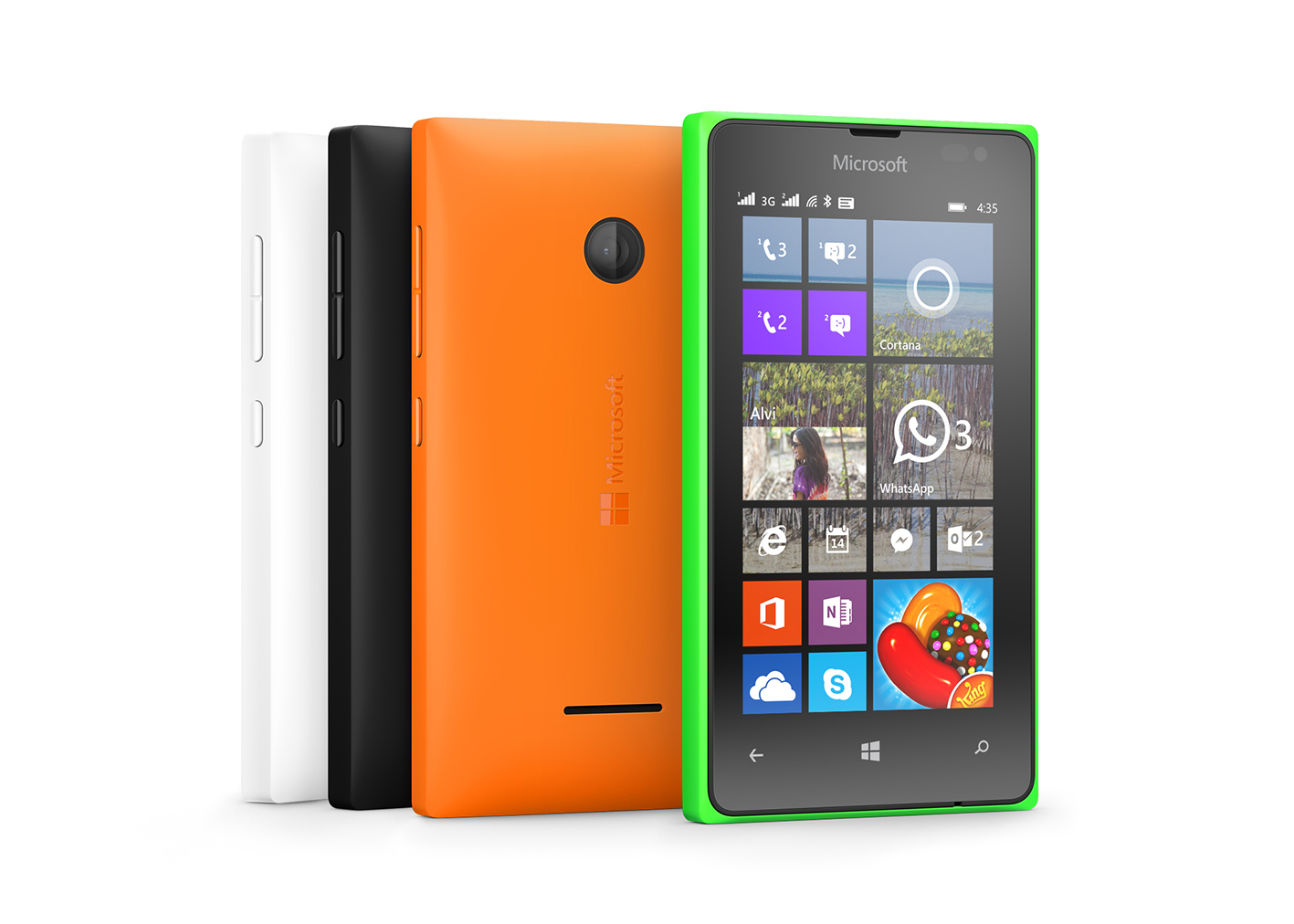 Microsoft Launched Two New Cheap Smartphones
