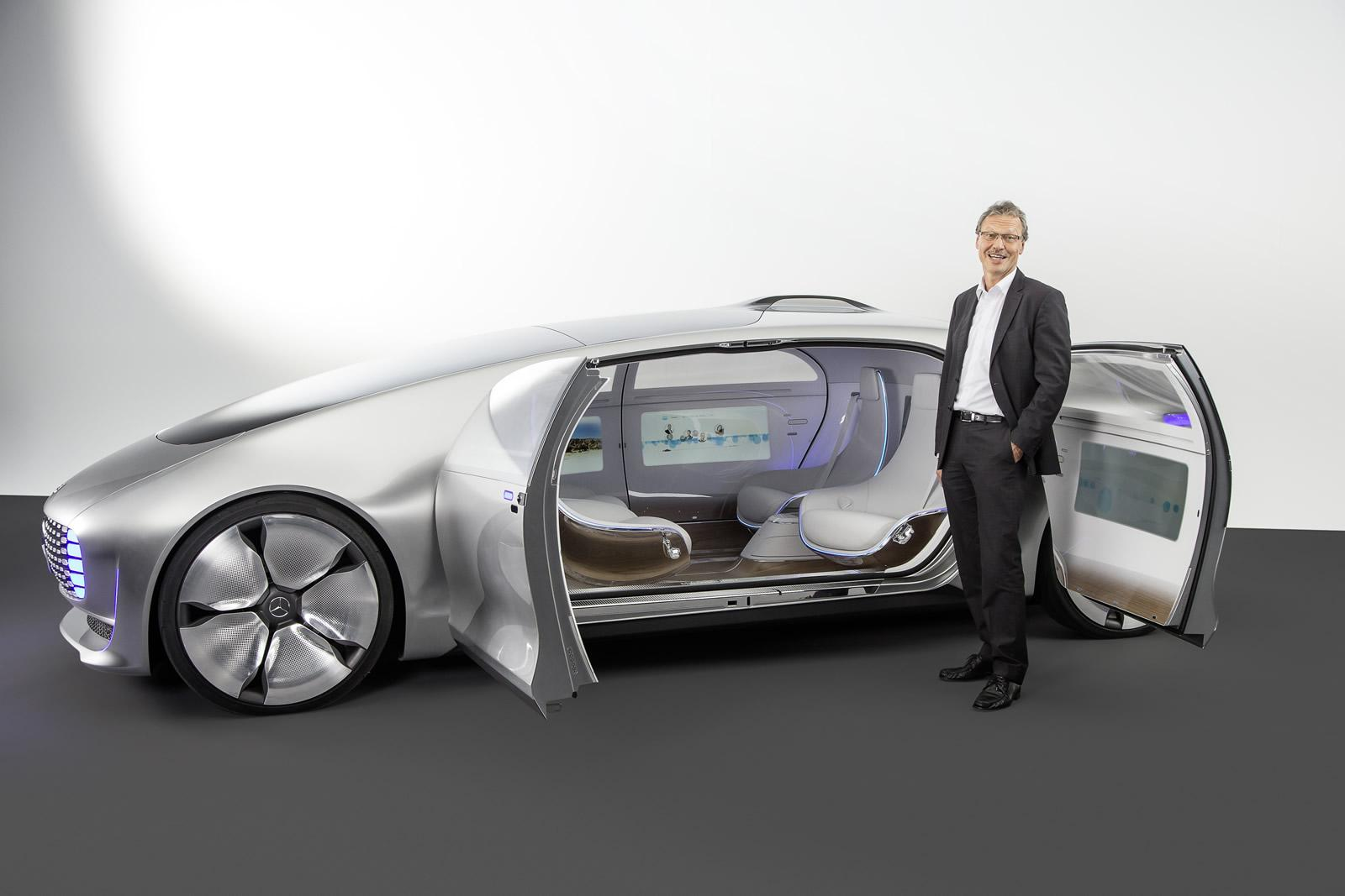 Auto industry innovations in 2015 hybrids self driving for Mercedes benz car names