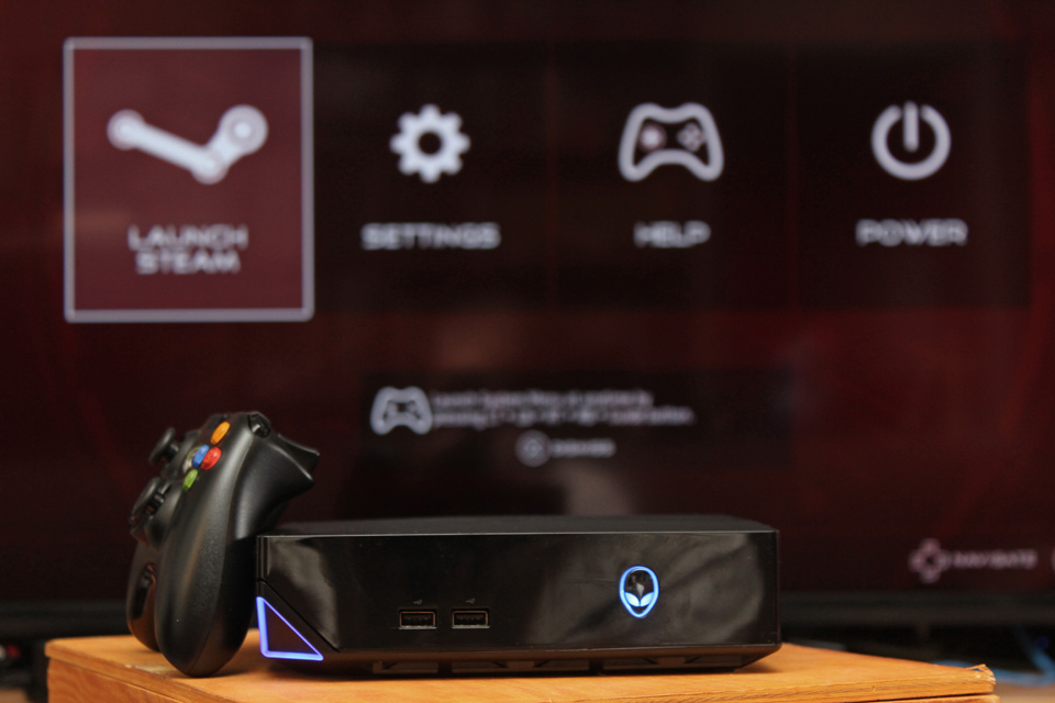 Alienware Alpha with Xbox Controller