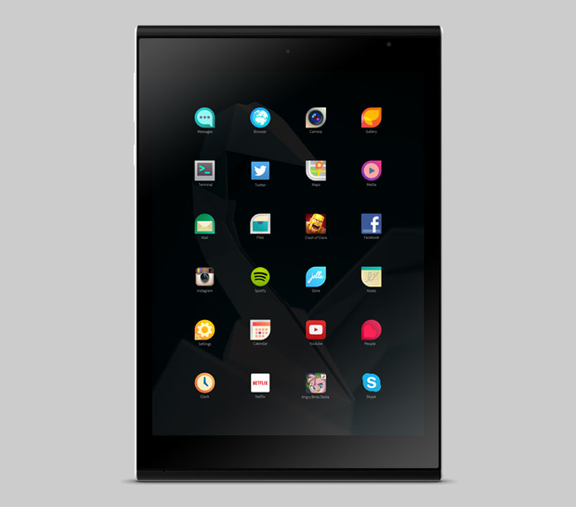 Jolla Tablet App Screen