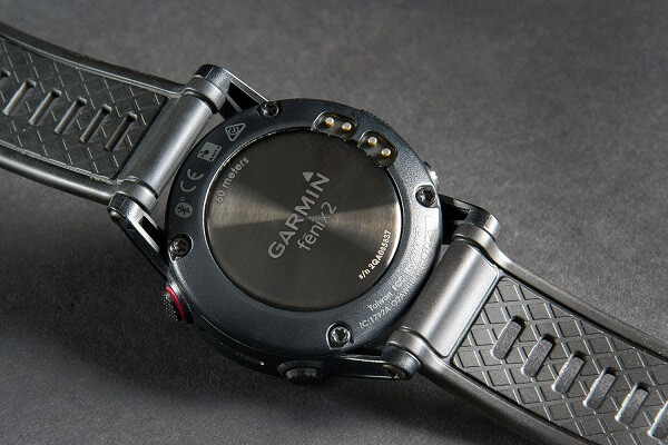 Garmin Fenix 2 Review Back