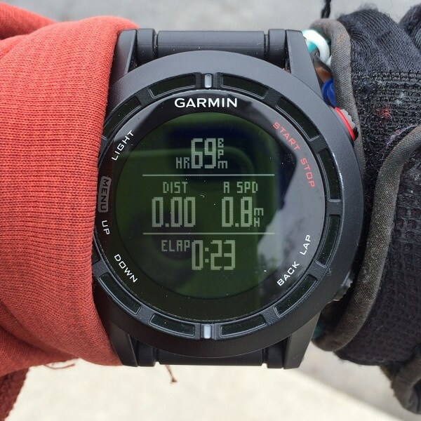 Garmin Fenix 2 Review Screen