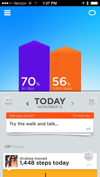 jawbone up24 review first steps of a healthy life