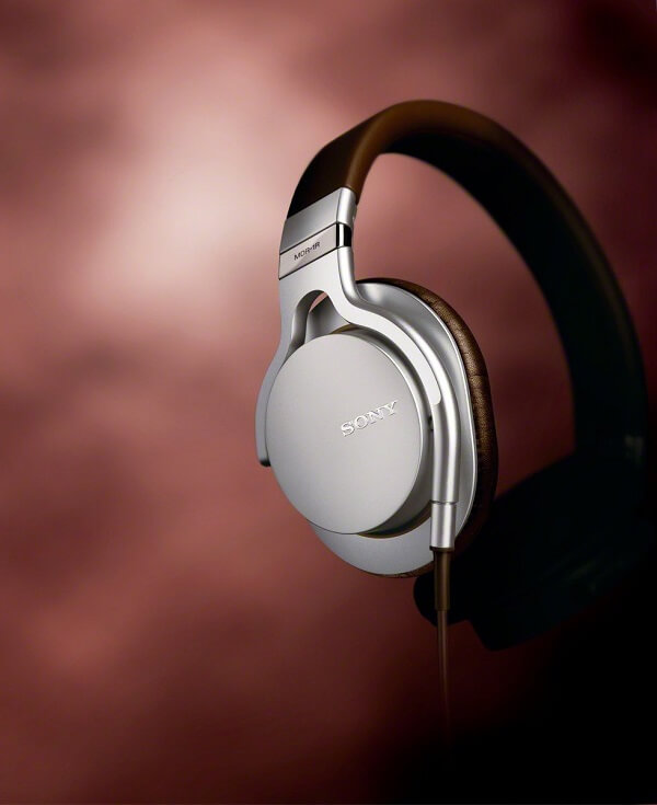Cabled Silver Sony MDR-1R
