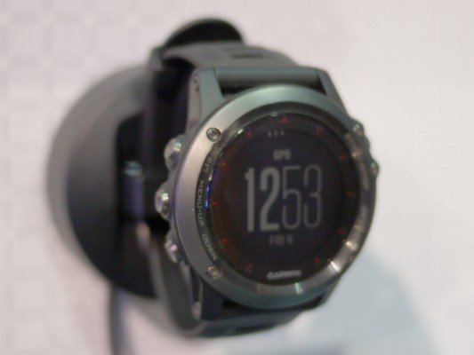The Garmin Fenix 3