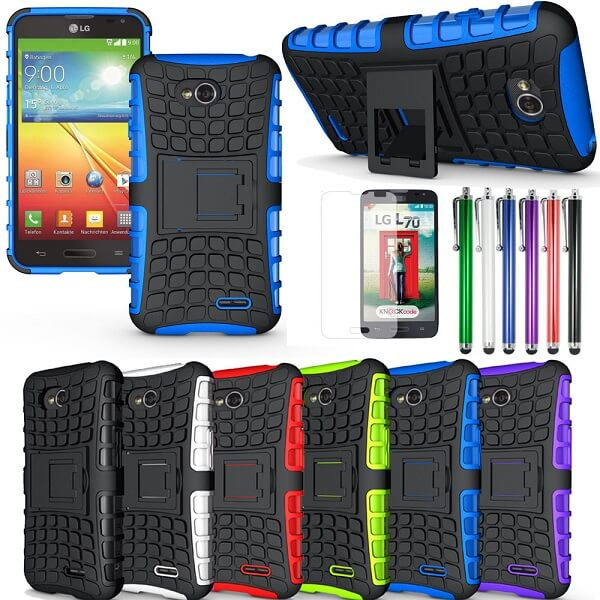 LG Optimus L70 Extra Protection Cases