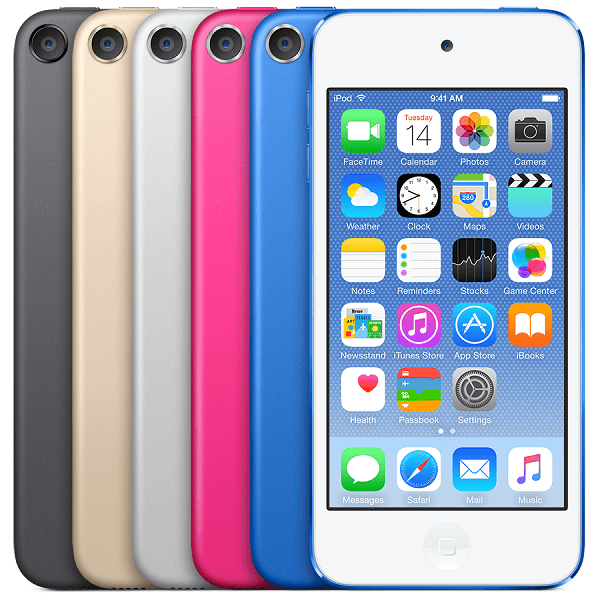 iPod Touch 6th Generation Color Variants