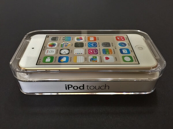 iPod Touch 6th Generation Packaging