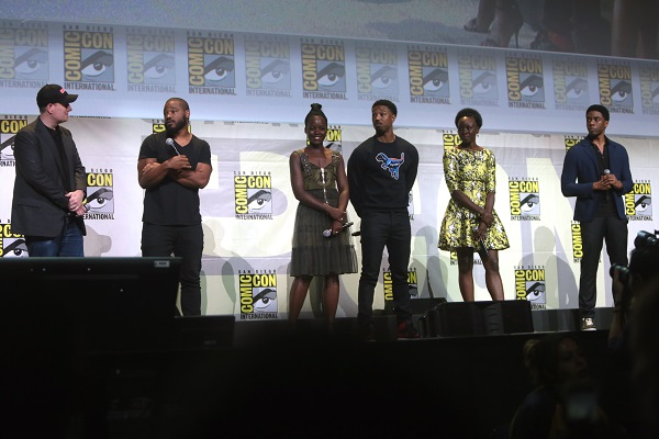 black panther cast and new poster