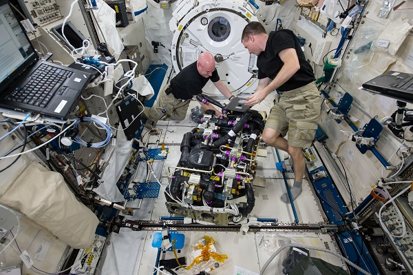 google street view aboard the iss