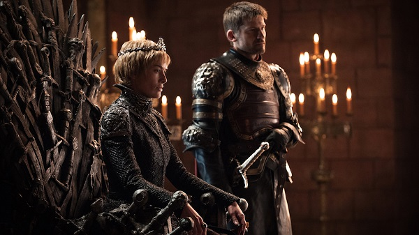 game of thrones Cersei and Jamie Lannister