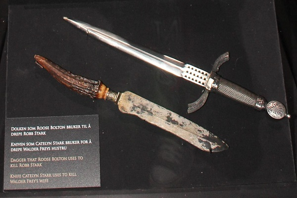 game of thrones theories dagger exhibition