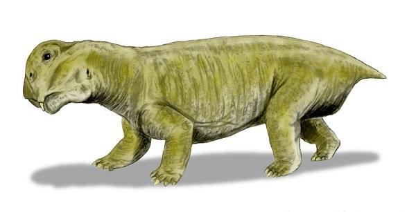 Green Lystrosaurus