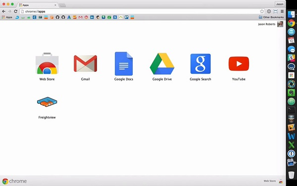 Chrome Google extensions on a Mac