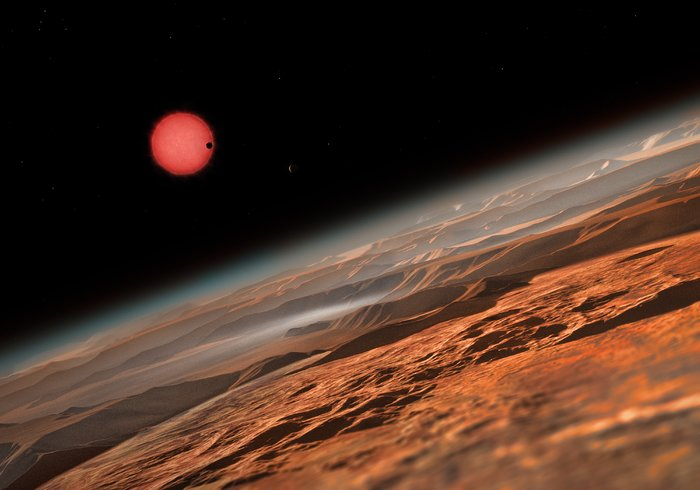 TRAPPIST-1 planets may have water.