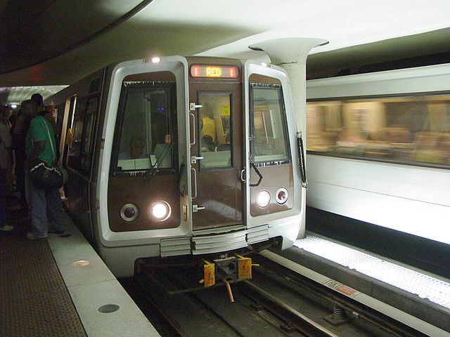 Naked Man Busted on Washington DC Metro Train